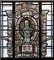 TQ3877 : St Alfege, Greenwich - Stained glass window by John Salmon