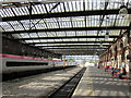 SJ8745 : Stoke-on-Trent Railway Station, Platform by Roy Hughes