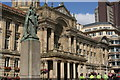 SP0686 : Queen Victoria &amp; Birmingham City Council House by Derek Bennett