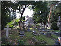 TQ1682 : St Mary's Perivale and churchyard by David Hawgood