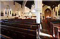 TQ5088 : St Andrew, St Andrews Road, Romford - Interior by John Salmon