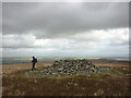 NY4911 : Prehistoric cairn, summit of Selside Pike by Karl and Ali