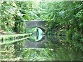 SO8379 : Wolverley Forge bridge by Christine Johnstone