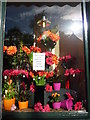 NT2475 : Edinburgh Townscape : Florist's Window Display in Goldenacre by Richard West