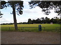 SU9683 : Farnham Royal playing fields by David Howard