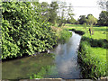 SP0810 : River Coln downstream from bridge at Coln St Dennis by Stuart Logan