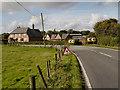 SJ8781 : Lees Lane (A5358) Mottram St Andrew by David Dixon