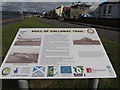NX0761 : Mull of Galloway Trail Sign by Billy McCrorie