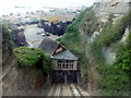 TQ8209 : Hastings, East Cliff Railway by Helmut Zozmann