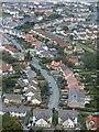 SH7376 : Toeau amryliw yn Nwygyfylchi / Multi-coloured roofs in Dwygyfylchi : Week 41