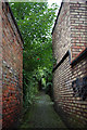 SJ7578 : A Knutsford Alley by Glyn Baker