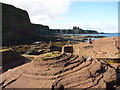 NT6084 : Coastal East Lothian : Approaching Seacliff Harbour by Richard West