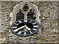 TQ3952 : Clock of St Mary's church, Oxted by Stephen Craven
