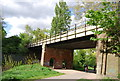TQ3774 : Railway Viaduct, Ladywell Fields by Nigel Chadwick