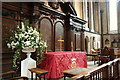 TQ3181 : Altar, Temple Church, London EC4 by Christine Matthews