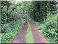 TL7178 : Byway off Eriswell Road by Hugh Venables