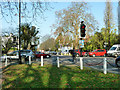 TQ3373 : Crossroads, Dulwich by Robin Webster