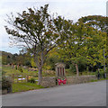 SK0482 : Chinley War Memorial, Stubbins Lane by David Dixon