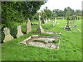 SY7791 : St. John the Evangelist, Tincleton: churchyard (b) by Basher Eyre