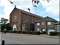 TQ4883 : St Peter's Catholic Church, Dagenham by Robin Webster