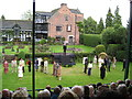 SJ8969 : Gawsworth Hall open air theatre by Peter Turner