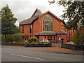 SJ8791 : Heaton Moor United Church by David Dixon