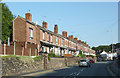 SJ8354 : Terraced housing in Kidsgrove, Staffordshire by Roger  Kidd