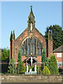 SJ8354 : Catholic Church of St John in Kidsgrove, Staffordshire by Roger  Kidd