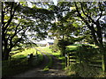 NZ1550 : Entrance to Durham Hill Farm by Robert Graham