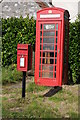 ST6593 : Telephone box and post box by Philip Halling