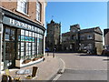ST8622 : Shaftesbury: town centre by Chris Downer