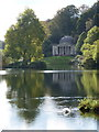 ST7733 : Stourhead: the Pantheon from across the lake by Chris Downer