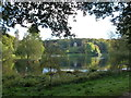 ST7734 : Stourhead: view over the lake from the northwest by Chris Downer