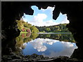 ST7734 : Stourhead: view from the grotto by Chris Downer