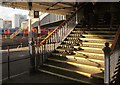 TQ2775 : Stairs at Clapham Junction by Derek Harper