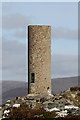 NN6692 : Cruban Beag trig point by Walter Baxter