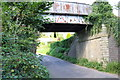 SY4994 : Bridge carrying dismantled railway over Loders to Yondover road by Roger Templeman