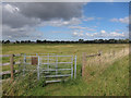 TL5265 : Footpath across Bottisham Fen by Hugh Venables
