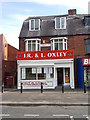 SE2928 : J R &amp; L Oxley Butchers - Middleton Park Circus by Betty Longbottom