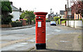 J3378 : Pillar box, Belfast by Albert Bridge
