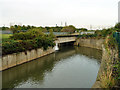 TQ3590 : Aqueduct, Lee Valley by Robin Webster