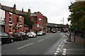 SJ9490 : Stockport Road by roger geach