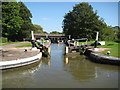 SP2665 : Grand Union Canal: Lock Number 26: Hatton Bottom Lock by Nigel Cox