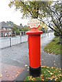 TQ1565 : Postbox &#8470; KT10 214, Manor Road North by David Howard