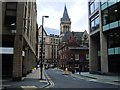SJ8398 : Cooper Street, Manchester by Paul Gillett