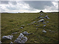 SD9064 : Ancient settlement wall, New Close above Malham by Karl and Ali