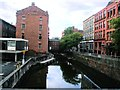 SJ8497 : Rochdale Canal, Manchester by Paul Gillett