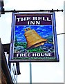 SO6775 : The Bell Inn - new sign, 8 Lower Street, Cleobury Mortimer by P L Chadwick