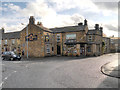 NY8677 : The Grey Bull Inn at Wark by David Dixon