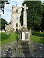 TQ0381 : St Peter's Church, Iver, War Memorial by Alexander P Kapp